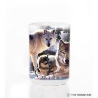 Кружка Mountain - Wolf Family Mountain
