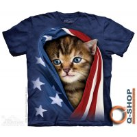 Футболка Mountain 2015 - PATRIOTIC KITTEN