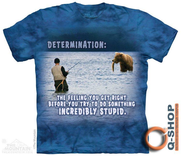 футболка человека создала рыбалка